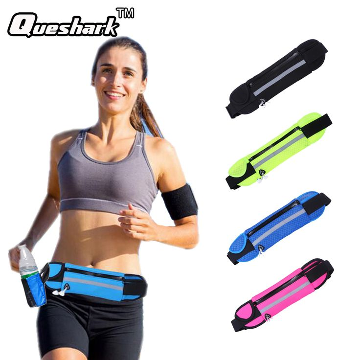 Multifunction Running Waist Bag Sport Packs For Music With Headset Hole-Fits Smartphones Sports Bags Fitness Belt Chest Pouch
