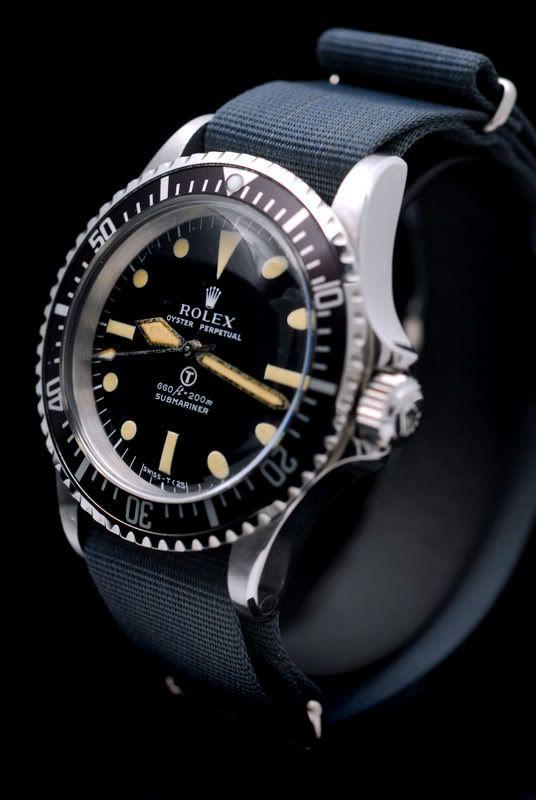 Original Rolex Milsub NATO Strap | Perpetuelle. A los puristas se les deben…