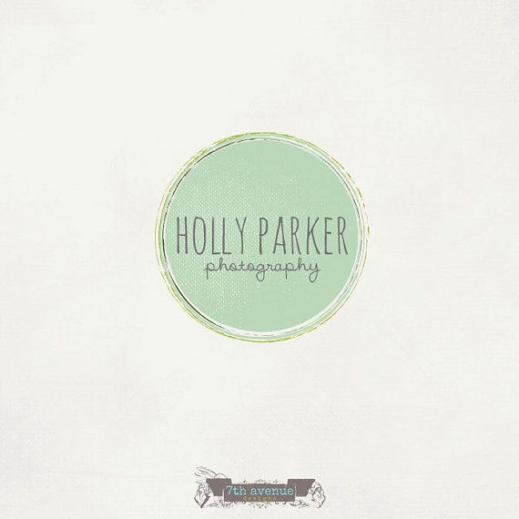 Custom Premade Logo Design  OOAK  Holly Parker by 7thavenuedesigns, $70.00
