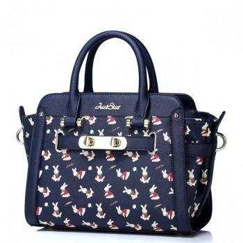 Damska torebka z króliczkiem Niebieska - Just Star