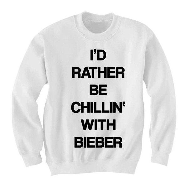 Justin Bieber Sweatshirt Crewneck Sweater Jumper - Justin Bieber... ($25) ❤ liked on Polyvore featuring tops, hoodies, sweatshirts, justin bieber shirts, justin bieber sweatshirt, crewneck sweatshirt, relax shirt and crew neck sweatshirts
