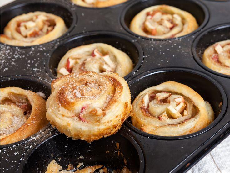 Apfel-Zimt-Schnecken - mit nur 5 Zutaten zum Adventsglück!Wir sagen euch wie's geht.