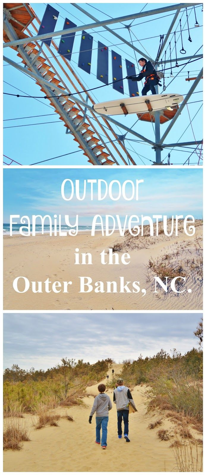 An Outer Banks Vacation Guide for families. Find out what to do, where to stay and what to eat in the Outer Banks Area. #obx #obxnow #ad