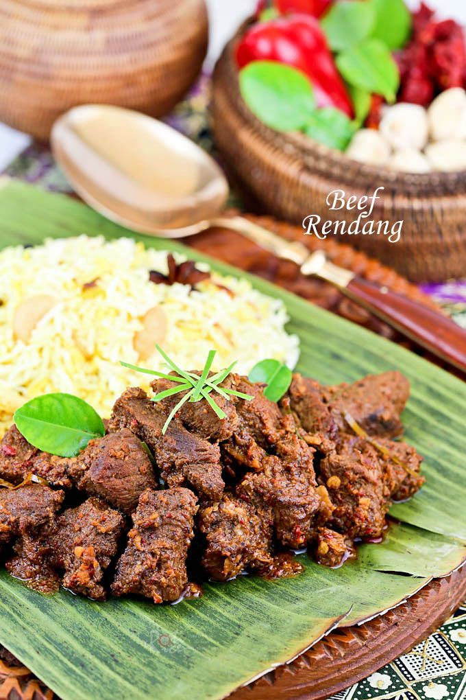Beef Rendang, is an aromatic caramelized beef curry traditionally served during festive occasions. Make it at home with detailed video instructions. | RotiNRice.com