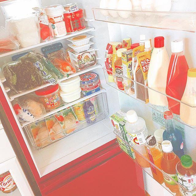 久々に冷蔵庫が潤った❤️ 今月金土日ほぼ全部 飲み会やから 平日だけは体に気を使おう(笑) できるだけ体に優しいもの たべます宣言。 あーーー一週間始まった がんばりましょう!!😉⭐️👍🏻 #一人暮らし  #冷蔵庫  #潤った  #料理  #頑張ろう  #野菜  #肉  #バランスよく  #たまご主婦