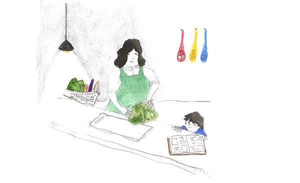 periodical's illustration on Behance
