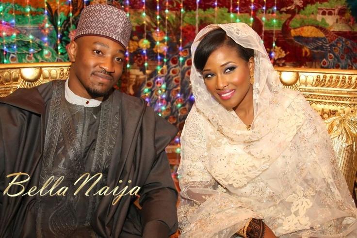 Northern Nigeria. Bride and Groom -- #Nigeria African Wedding #Africa