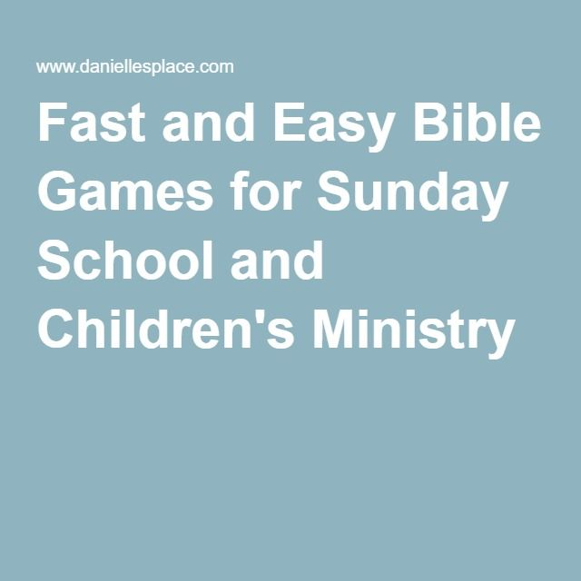 Sunday School Christmas Party Games: 1000+ Ideas About Sunday School Games On Pinterest