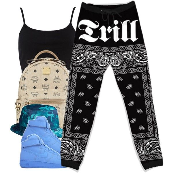 A fashion look from October 2014 featuring River Island tops, MCM backpacks and HUF hats. Browse and shop related looks.