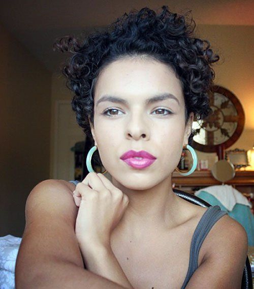 AMAZING CURLY AND WAVY PIXIE CUTS 2016
