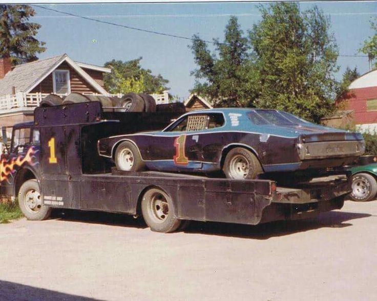 pin by lory mace on haulers pinterest cars old race. Black Bedroom Furniture Sets. Home Design Ideas