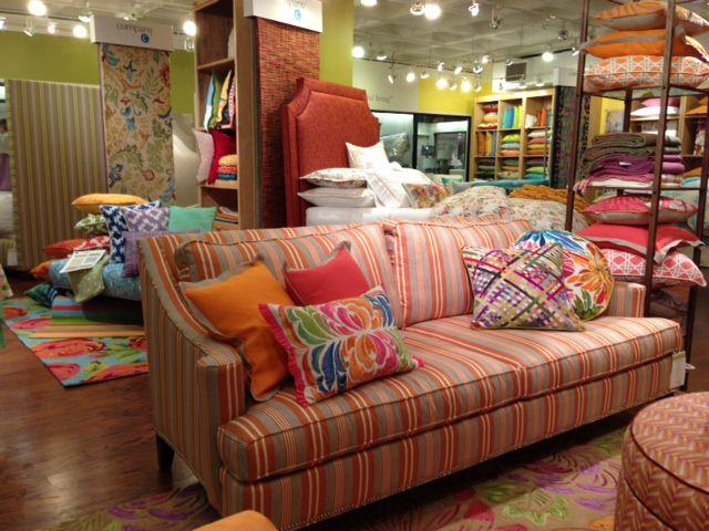 Featured Living Room Set On Display At Atlanta