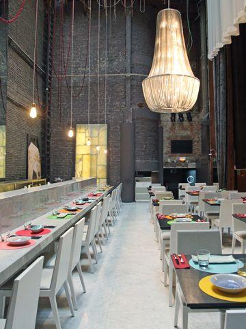 Restaurante Teatriz, Madrid. Constrir es el #ARTE de CReAR Infraestructura... #CReOConstrucciones.