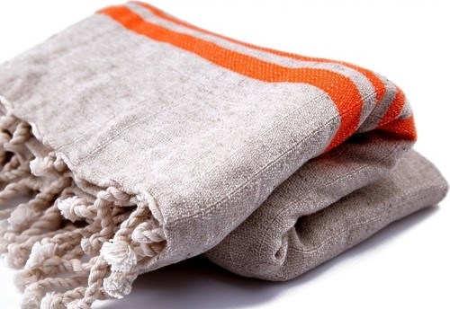 mediterranean-towels. Thinking I want these when we re-do our bathroom.