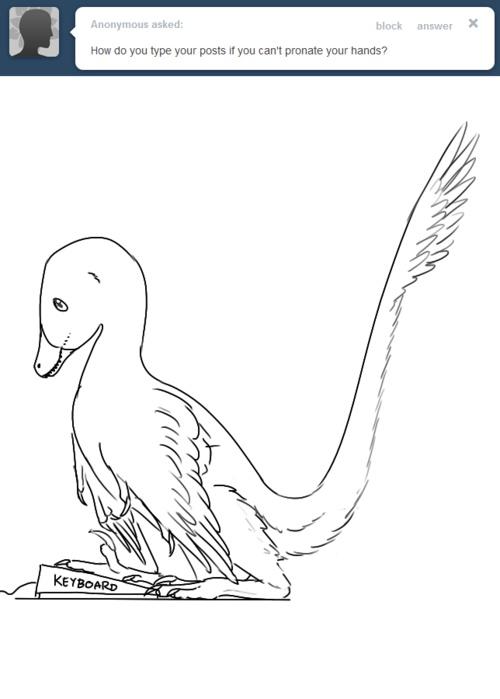 ask a velociraptor