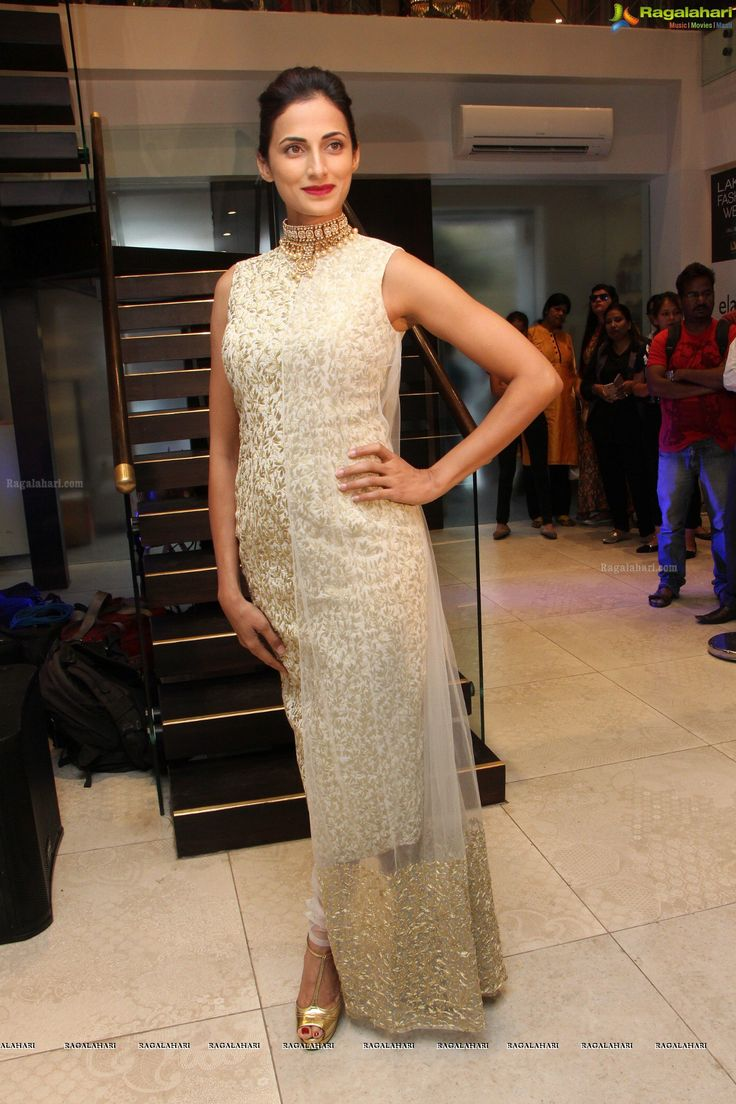 Designer Shilpa Reddy turns muse to Nikhil Thampi at the preview of Lakme Fashion Show - Winter Festive preview in Hyderabad at Elahe
