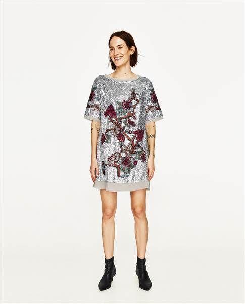 Sequin Mini-dress