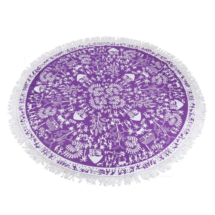 Lovely Pets Factory Price Summer convenient Indian Round Mandala Tapestry Wall Hanging Towel Boho Beach Polyester Mat Aug22