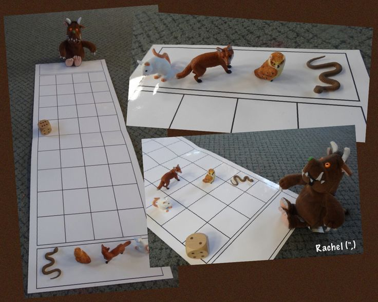 "Gruffalo game from Rachel ("",)                                                                                                                                                                                 More"