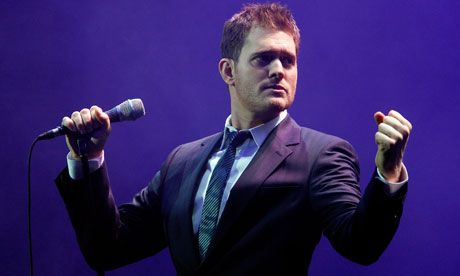 Michael Buble. His show is fantastic! I will go as many times as I can!!