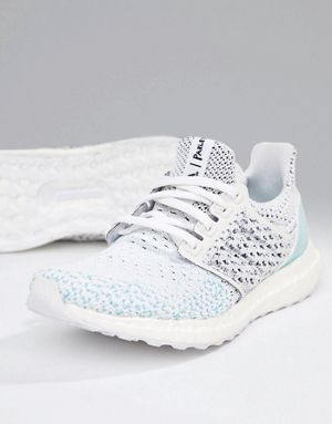 ee82c08be277c adidas Running Parley Ultraboost Sneakers In White