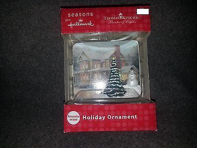 2012 Seasons from Hallmark Thomas Kinkade Victorian Christmas Frame ornament
