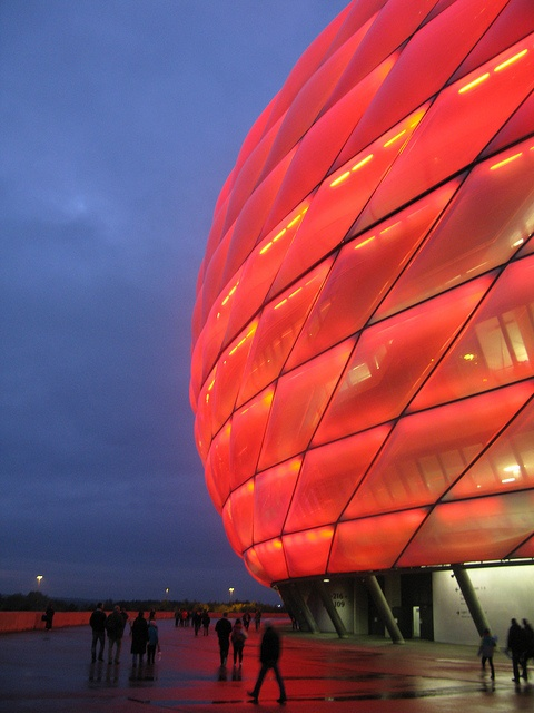 Munich, Allianz Arena the mighty FCC Bayern great times ..... Miss the beer