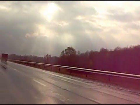 Релакс.Красивое видео!Россия.Трасса под Уфой после дождя.