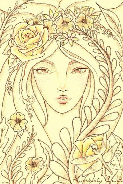 ✯ Flowering :: Artist Kimberly Crick ✯