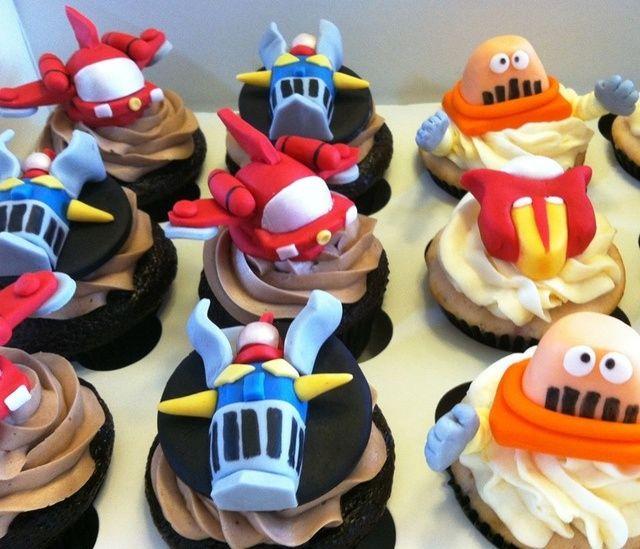 14 Best Mazinger Z Cake Images On Pinterest