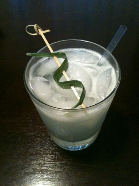 cucumber gimlet | For the Whistle | Pinterest
