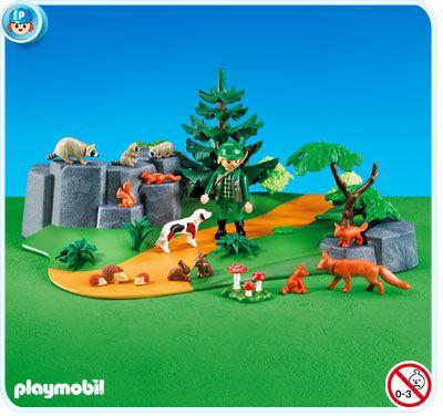 7494 Maqueta bosque con animales