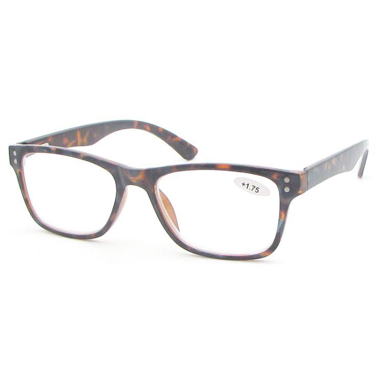 Metal Spring Hinge Tortoise colors DEMI Reading glasses