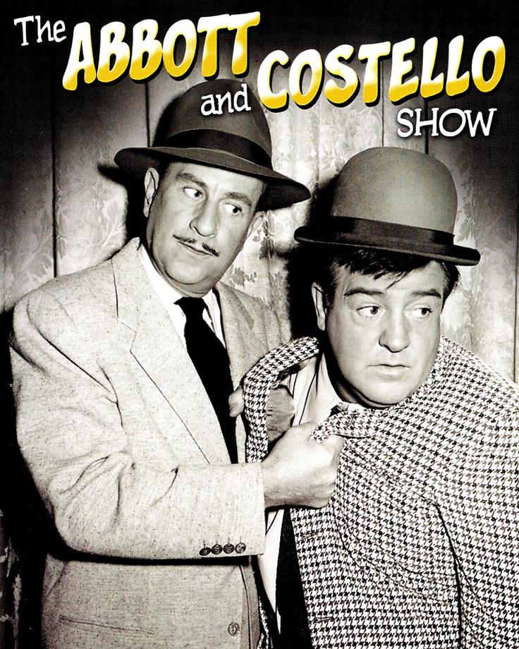 The Abbott and Costello Show. | tv shows I enjoyed | Pinterest