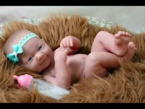 my beautiful baby girl doll smiling premature Berenguer doll