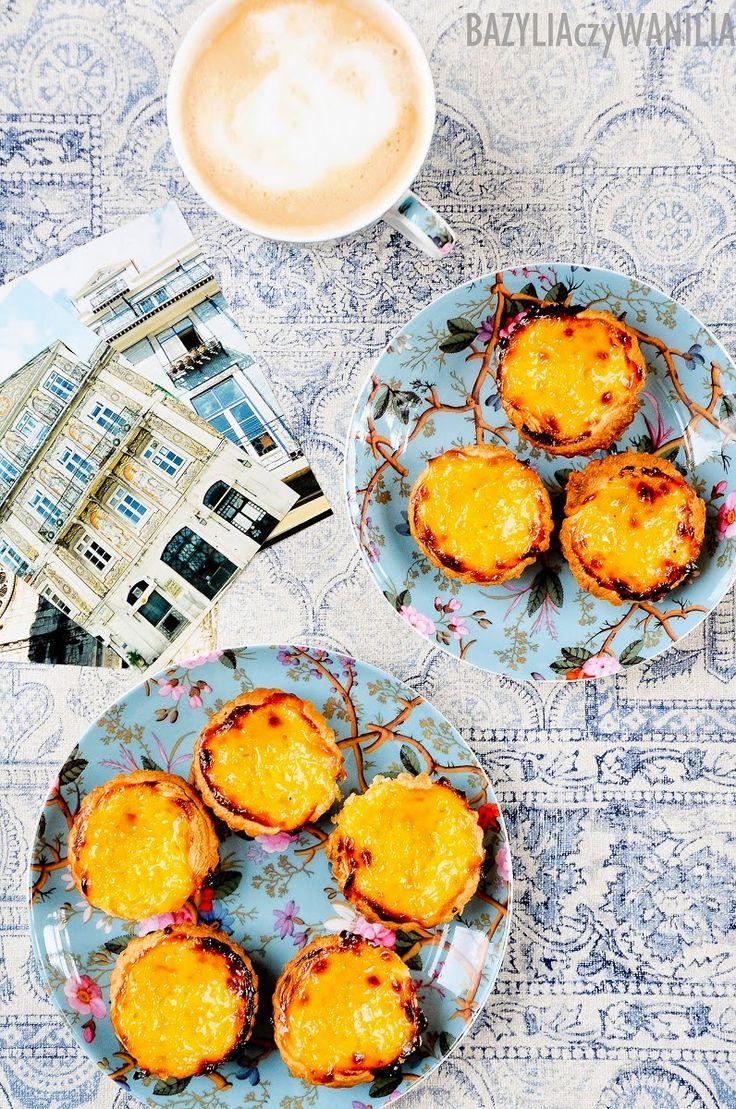 Bazylia czy Wanilia: Pasteis de nata - portugalskie ciasteczka wg. przepisu, którego nie zna nikt