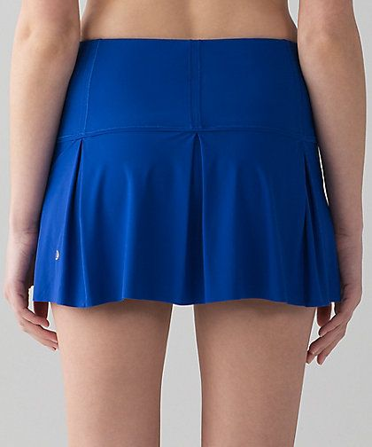 Lululemon Lost In Pace Skirt Regular & Tall  Color:  Jetstream Blue Size:  2-12  Price:  68.00 Released:  2017
