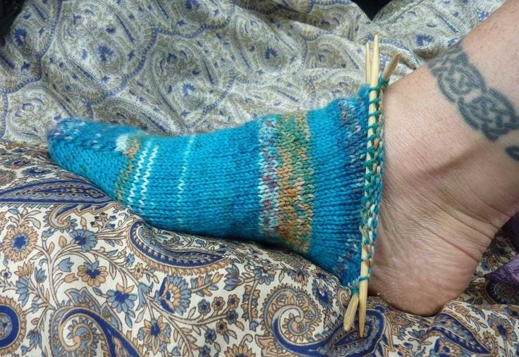 Miempje maakt...: Miempje maakt een recept voor Super Simpele Sokken