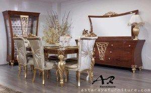 Set Meja Makan Golden Classic Furniture