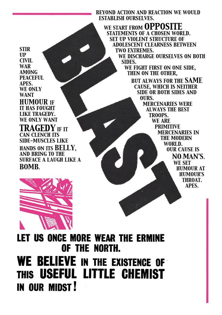 blast vorticism - Google Search