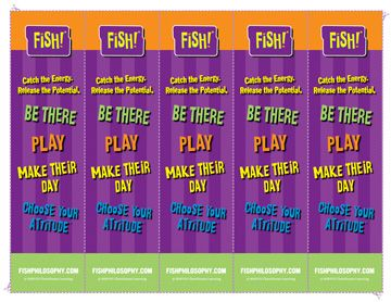 Fish! Philosophy Of Teamwork Essay