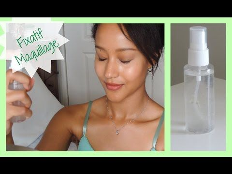 ♡DIY : Spray fixateur de maquillage♡ - YouTube