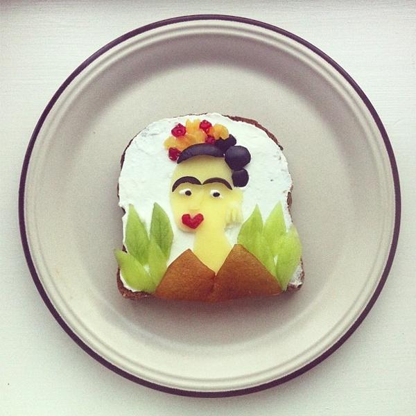 Frida Kahlo toast | Idafrosk