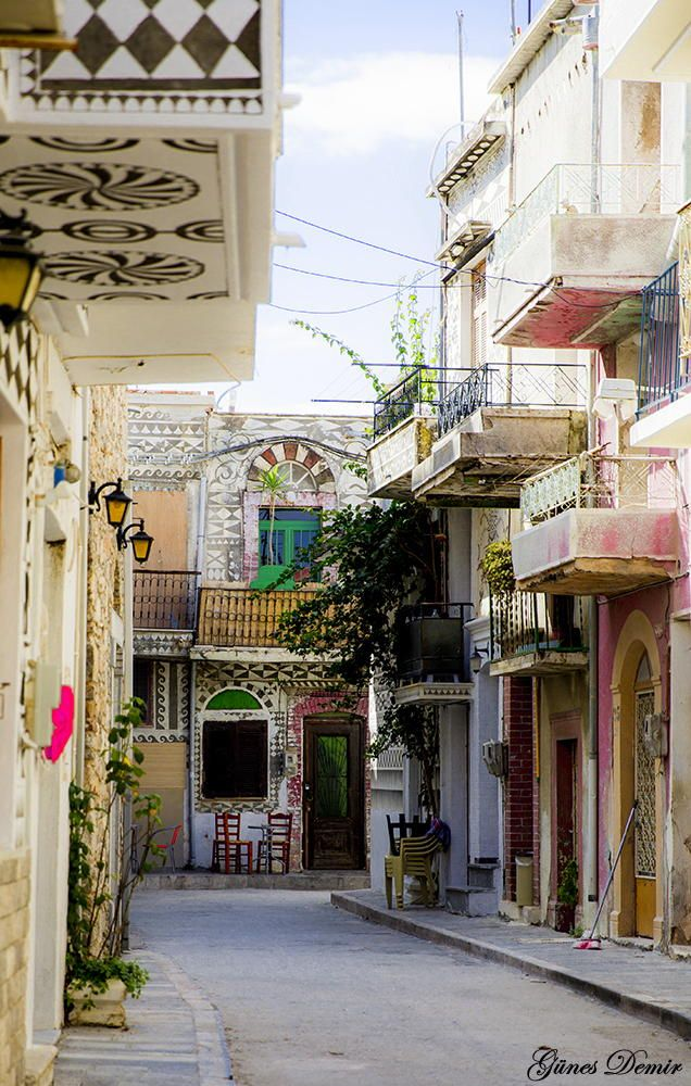 Pyrgi - The Painted Village, Chios, Greece