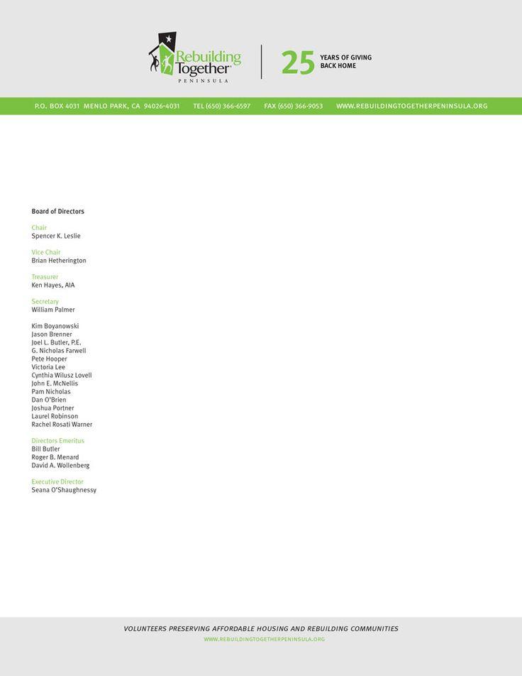 Sample Nonprofit Letterhead Google Search Nonprofit