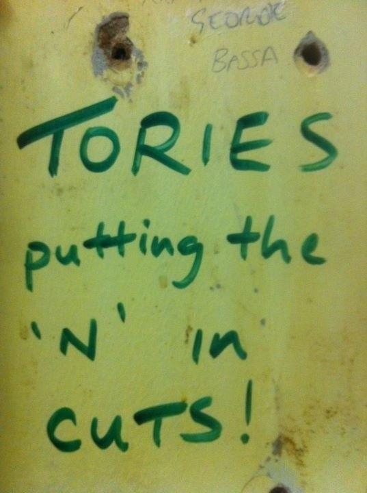 In Glasgow...