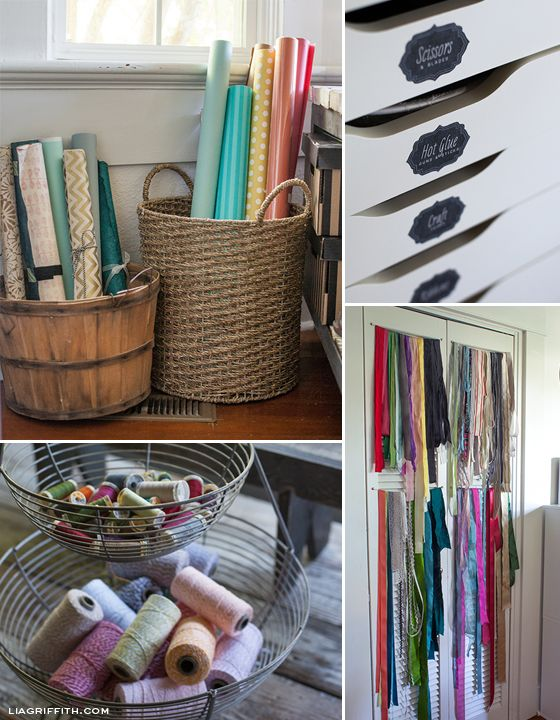 Great website for organizing craft supplies