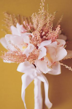 Orchid-Astilbe-Bouquet  Friday Flowers