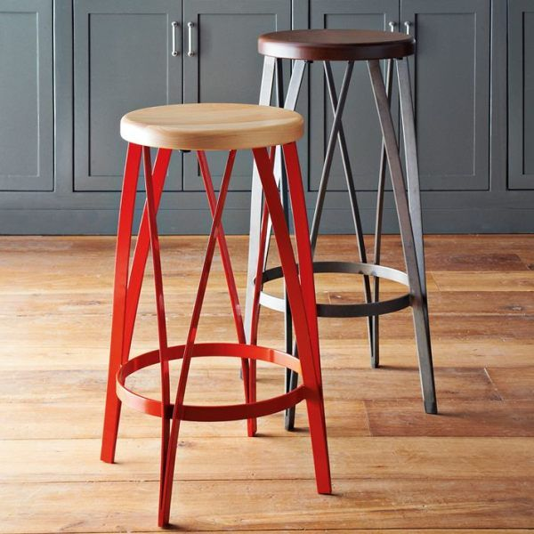 20 Outstanding Modern Kitchen Stools For An Exquisite Meal: Metal And Wood Barstools