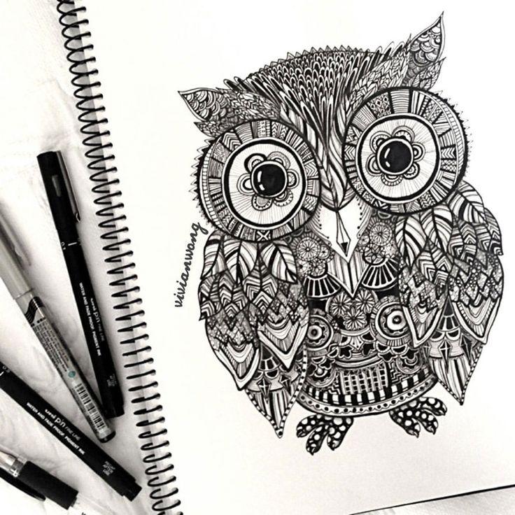 Курс рисования зентангл для начинающих | web-paint.ru
